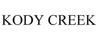mark for KODY CREEK, trademark #85772053