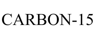 mark for CARBON-15, trademark #85772072