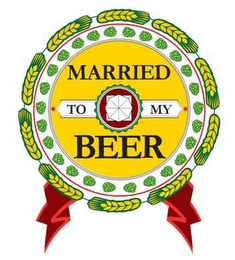 mark for MARRIED TO MY BEER, trademark #85772104