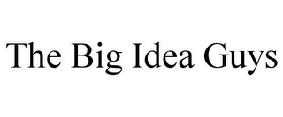 mark for THE BIG IDEA GUYS, trademark #85772463