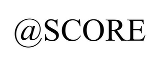 mark for @SCORE, trademark #85772507