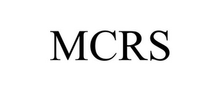 mark for MCRS, trademark #85772670