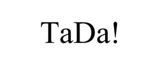 mark for TADA!, trademark #85772952