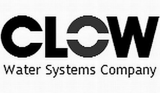 mark for CLOW WATER SYSTEMS COMPANY, trademark #85772991