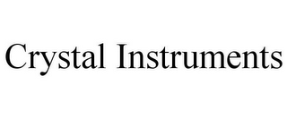 mark for CRYSTAL INSTRUMENTS, trademark #85773035