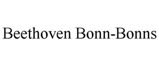 mark for BEETHOVEN BONN-BONNS, trademark #85773104