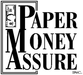 mark for PAPER MONEY ASSURE INC., trademark #85773122