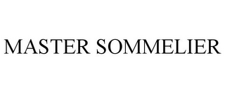 mark for MASTER SOMMELIER, trademark #85773147