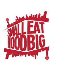 mark for SMALL HOOD EAT BIG, trademark #85773301
