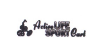 mark for ACTIVE LIFE SPORT CART, trademark #85773472