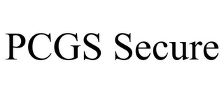 mark for PCGS SECURE, trademark #85773477