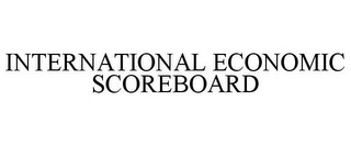mark for INTERNATIONAL ECONOMIC SCOREBOARD, trademark #85773484