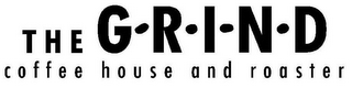 mark for THE G R I N D COFFEE HOUSE AND ROASTER, trademark #85773486