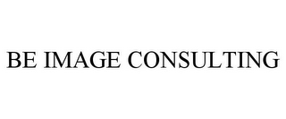 mark for BE IMAGE CONSULTING, trademark #85773502
