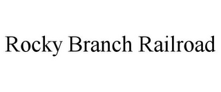mark for ROCKY BRANCH RAILROAD, trademark #85773928