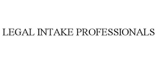 mark for LEGAL INTAKE PROFESSIONALS, trademark #85773940