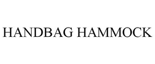 mark for HANDBAG HAMMOCK, trademark #85774318