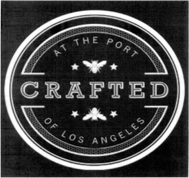 mark for CRAFTED AT THE PORT OF LOS ANGELES, trademark #85774959