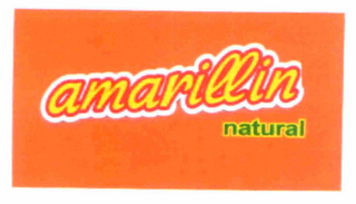 mark for AMARILLIN NATURAL, trademark #85775124