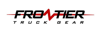 mark for FRONTIER TRUCK GEAR, trademark #85775140