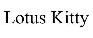 mark for LOTUS KITTY, trademark #85775212