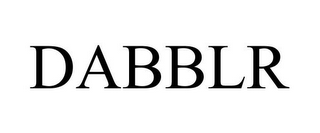 mark for DABBLR, trademark #85775243