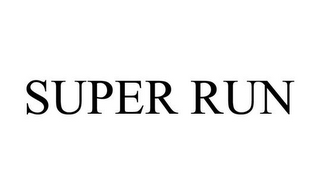 mark for SUPER RUN, trademark #85775323
