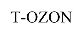 mark for T-OZON, trademark #85775421