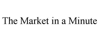 mark for THE MARKET IN A MINUTE, trademark #85775582