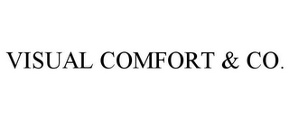 mark for VISUAL COMFORT & CO., trademark #85775609