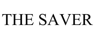 mark for THE SAVER, trademark #85776154