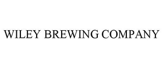 mark for WILEY BREWING COMPANY, trademark #85776349