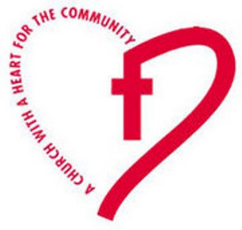mark for A CHURCH WITH A HEART FOR THE COMMUNITY, trademark #85776403