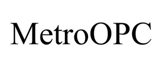 mark for METROOPC, trademark #85776565