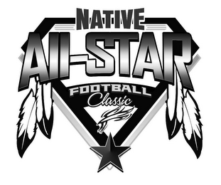 mark for NATIVE ALL-STAR FOOTBALL CLASSIC, trademark #85776854