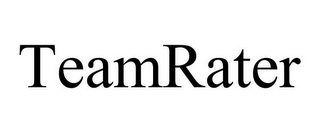 mark for TEAMRATER, trademark #85776887
