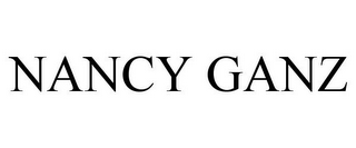 mark for NANCY GANZ, trademark #85776943