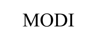 mark for MODI, trademark #85777065