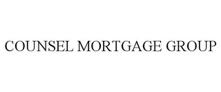 mark for COUNSEL MORTGAGE GROUP, trademark #85777153