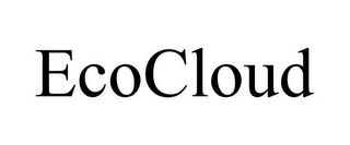 mark for ECOCLOUD, trademark #85777179