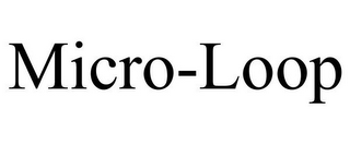 mark for MICRO-LOOP, trademark #85777240