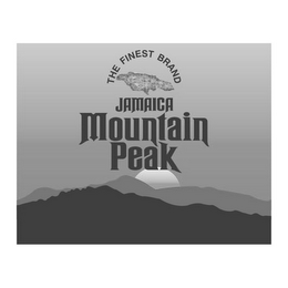 mark for JAMAICA MOUNTAIN PEAK THE FINEST BRAND, trademark #85777261