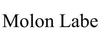 mark for MOLON LABE, trademark #85777353