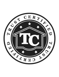 mark for TC TRUST CERTIFIED TRUST CERTIFIED, trademark #85777404