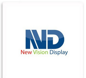 mark for NVD NEW VISION DISPLAY, trademark #85777558