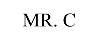 mark for MR. C, trademark #85777684