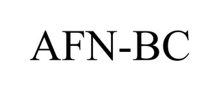 mark for AFN-BC, trademark #85777687