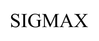 mark for SIGMAX, trademark #85777883