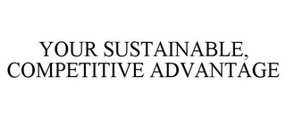mark for YOUR SUSTAINABLE, COMPETITIVE ADVANTAGE, trademark #85777892