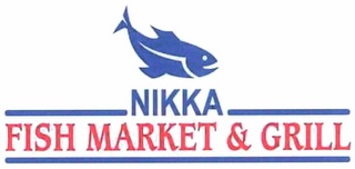 mark for NIKKA FISH MARKET & GRILL, trademark #85777955